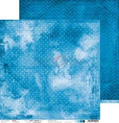 Craft O'clock skräppipaperi Blue Mood 02