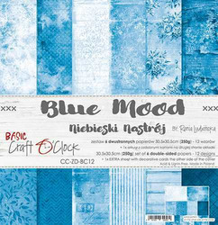 Craft O'clock paperipakkaus Blue Mood, 12