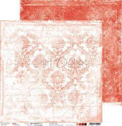 Craft O'clock skräppipaperi Red Mood 02