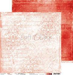 Craft O'clock skräppipaperi Red Mood 04