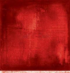 Craft O'clock skräppipaperi Red Mood 05