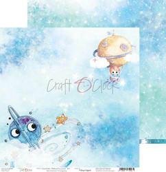 Craft O'clock skräppipaperi Cosmic Adventures 01