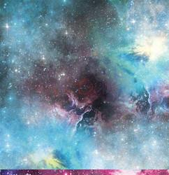 Craft O'clock skräppipaperi Cosmic Adventures 05