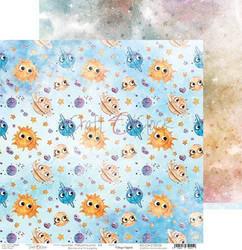 Craft O'clock skräppipaperi Cosmic Adventures 06