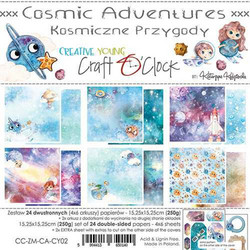 Craft O'clock paperipakkaus Cosmic Adventures
