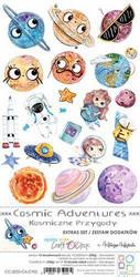 Craft O'clock paperipakkaus Cosmic Adventures, Extras To Cut