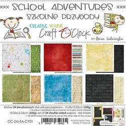 Craft O'clock paperipakkaus School Adventures
