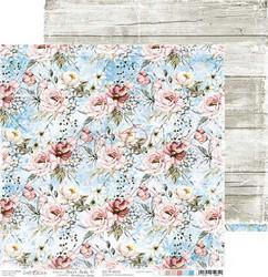 Craft O'clock skräppipaperi Flower Fiesta 02