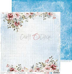 Craft O'clock skräppipaperi Flower Fiesta 03