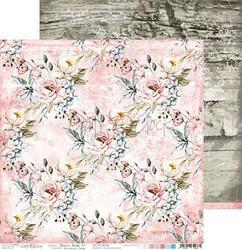 Craft O'clock skräppipaperi Flower Fiesta 04