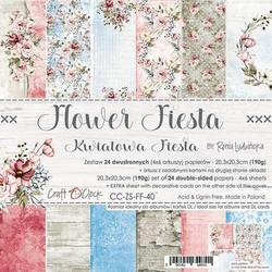 Craft O'clock paperipakkaus Flower Fiesta, 8