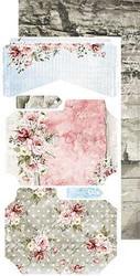 Craft O'clock paperipakkaus Flower Fiesta, Junk Journal Extras