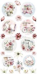 Craft O'clock paperipakkaus Flower Fiesta Labels