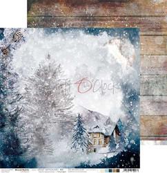 Craft O'clock skräppipaperi Snowy Winterland 03