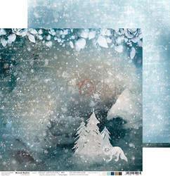 Craft O'clock skräppipaperi Snowy Winterland 04