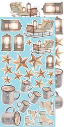 Craft O'clock paperipakkaus Snowy Winterland, Extras To Cut