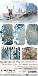 Craft O'clock paperipakkaus Snowy Winterland, Junk Journal Extras