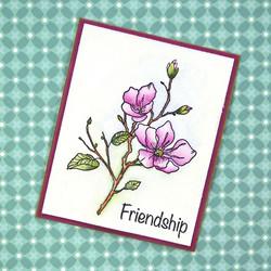 Elizabeth Craft Designs leimasin Blossom