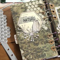 Elizabeth Craft Designs leimasin Home & Nature