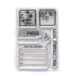 Elizabeth Craft Designs leimasin Paper Love