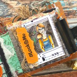 Elizabeth Craft Designs leimasin Polaroid Embellishments 1