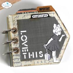 Elizabeth Craft Designs leimasin Label Tabs