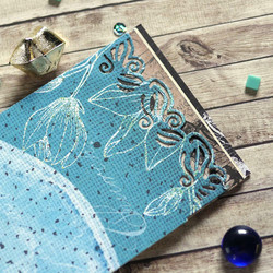Elizabeth Craft Designs Art Journal stanssi Junk Journal Extras