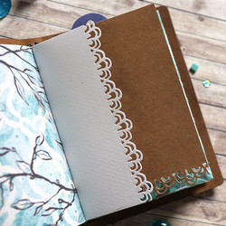 Elizabeth Craft Designs Art Journal stanssi Journal Edges