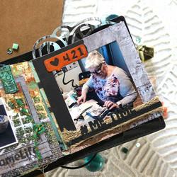 Elizabeth Craft Designs Art Journal stanssi My Edges