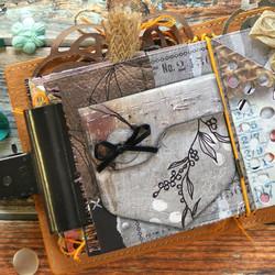 Elizabeth Craft Designs Art Journal stanssi Jeans Pocket