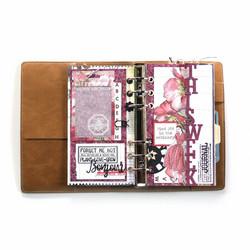 Elizabeth Craft Designs stanssi Sidekick Essentials 11, This Week Fold Out Page