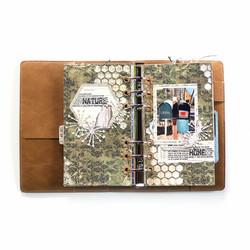 Elizabeth Craft Designs stanssi Sidekick Essentials 13, Hexagon Insert