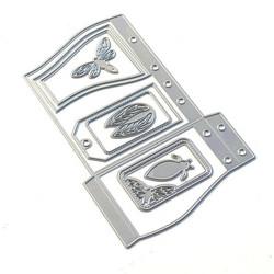 Elizabeth Craft Designs stanssi Sidekick Essentials 18, Wave Pocket