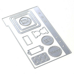 Elizabeth Craft Designs stanssi Planner Essentials 1