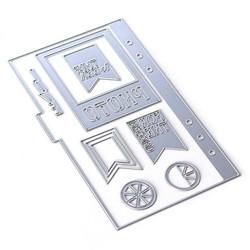 Elizabeth Craft Designs stanssi Planner Essentials 3