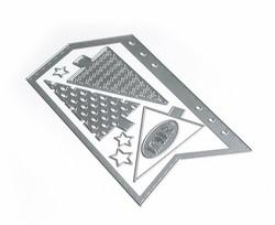 Elizabeth Craft Designs stanssi Planner Essentials 12, Arrow Page & Trees