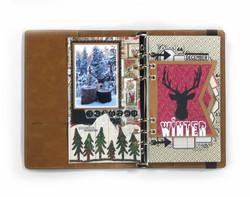 Elizabeth Craft Designs stanssi Planner Essentials 13, Xmas Winter Insert