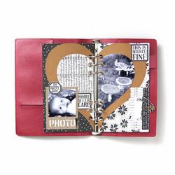 Elizabeth Craft Designs stanssi Planner Essentials 20, Half Heart Page