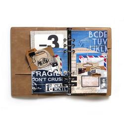Elizabeth Craft Designs stanssi Planner Essentials 30, Wave Pocket