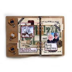 Elizabeth Craft Designs stanssi Planner Essentials 35, Holiday Tab Pages