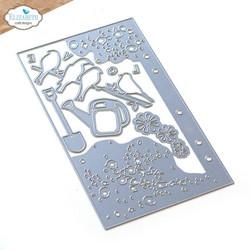 Elizabeth Craft Designs stanssi Planner Essentials 38, Birds on Splatter Page