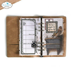 Elizabeth Craft Designs stanssi Planner Essentials 39, Torn Paper Page With Frames