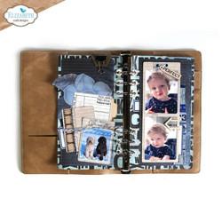 Elizabeth Craft Designs stanssi Planner Essentials 41, Rounded Corners Page