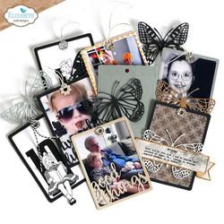 Elizabeth Craft Designs stanssi Planner Essentials 42, Shapes, Frames & Words