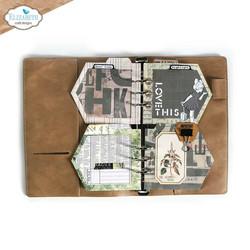 Elizabeth Craft Designs stanssi Planner Essentials 44, Folded Arrow Insert