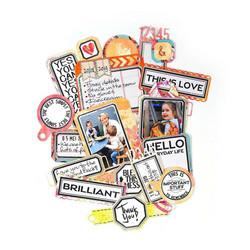 Elizabeth Craft Designs stanssi Planner Essentials, Planner Labels