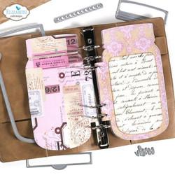 Elizabeth Craft Designs stanssi Planner Essentials, Mason Jar Special -setti