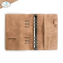 Elizabeth Craft Designs A5 Planner -kannet, Desert Sand