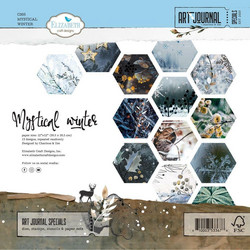 Elizabeth Craft Designs Mystical Winter -paperipakkaus, 12