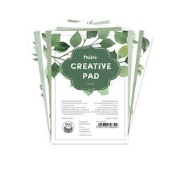 P13 Mini Creative -paperipakkaus Leaves, 4